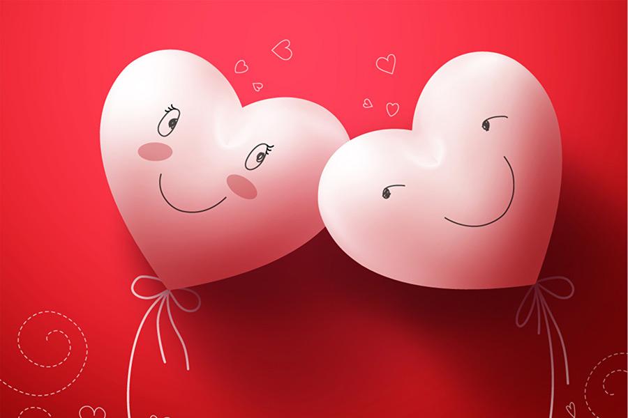 Первое признание в любви на 14 февраля